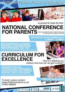 National Parents Conference 2010